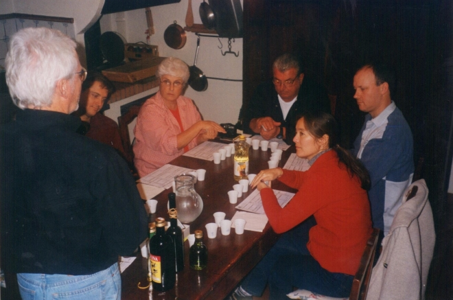 Balsamic tasting class at Villa Lucia.