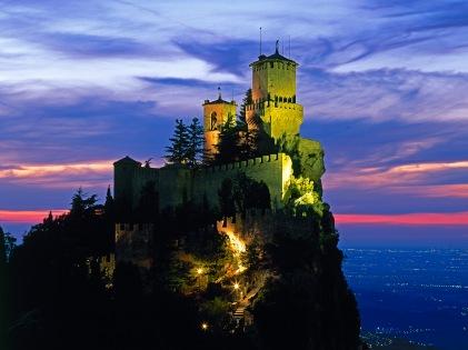 Rocca Guaita Fortress in San Marino