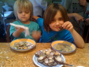 14. Dante and Luca will always love clams,storied food  memories