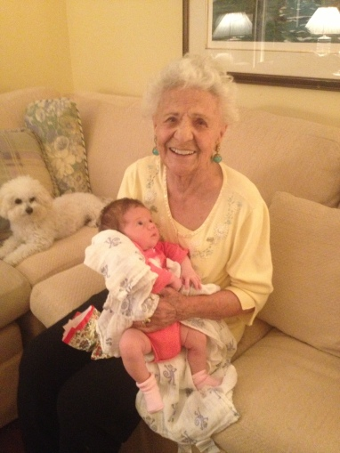 101 years difference in age, Kara Ann Luhan, born June 1, 2014.