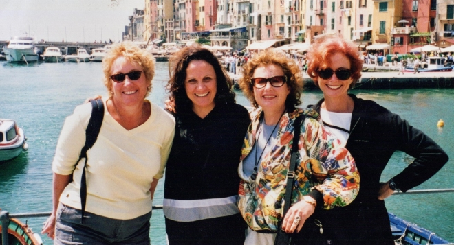 Desert ladies enjoying Cinque Terre.