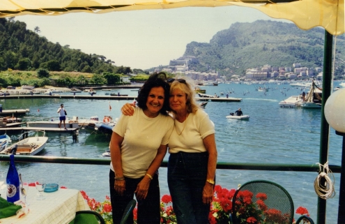 karen joins me for an International, all expensive cooking week in Liguria