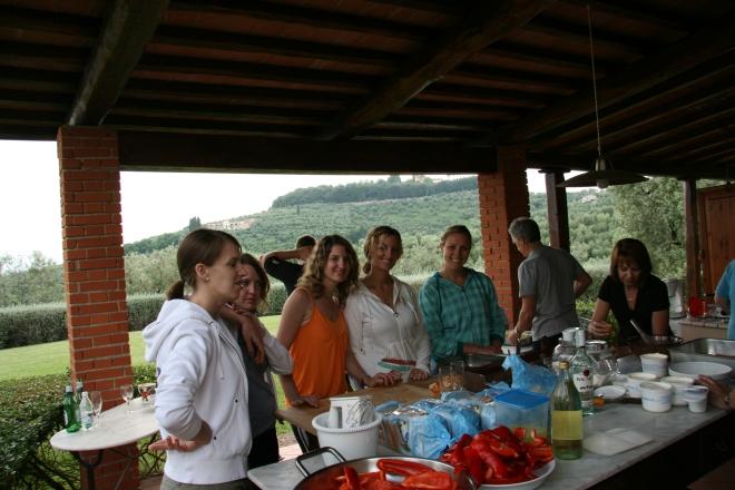 ladies having fun in the kitchen (1)