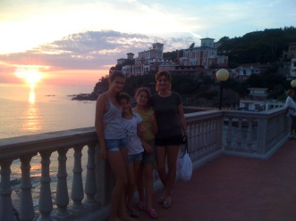 With our friends for a week in Castiglioncello