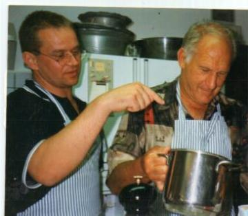 Don, wish you were still with us. Loved seeing you  in our  kitchen