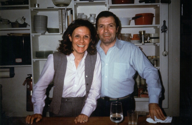 Honored to be in the  kitchen with Jacque Pepin, the internationally recognized french chef and tv personality in our younger days.